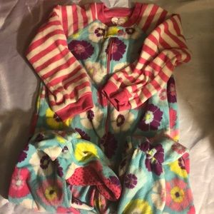 Children's Place Baby girls footed pajama sleeper